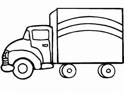 Coloring Truck Pages Trucks Coloringpages1001 Delivery
