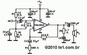 Draw Your Wiring   Tda 2040 Layout Pcbspf1