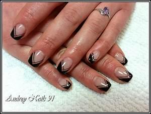Modele French Manucure Fantaisie : blog d ongle en gel blog de iloupitchou d co d 39 ongle en gel nail art pose d ongle en gel ~ Melissatoandfro.com Idées de Décoration