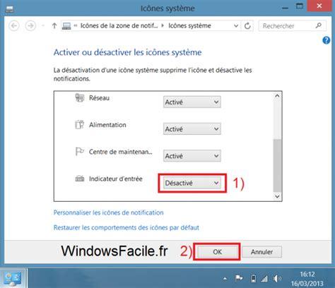 cacher icone bureau supprimer l 39 icône quot fra quot barre des tâches windowsfacile fr