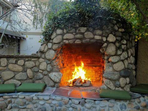 diy outdoor fireplace 35 amazing outdoor fireplaces and pits diy