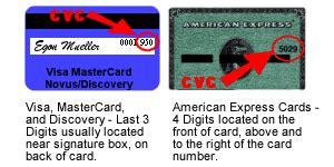 Maybe you would like to learn more about one of these? SS Graphics Inc.: Credit Card CVV and CVC Numbers