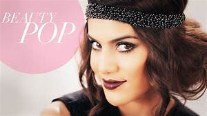 Great Gatsby Inspired 1920s Flapper Makeup Full Look ...