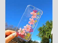 Fundas para el celular con flores reales para la primavera