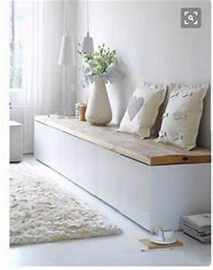 Ikea Hacks Flur : ikea hack mudroom bench 3 kallax shelving units and kallax drawer inserts beadboard back ~ Orissabook.com Haus und Dekorationen
