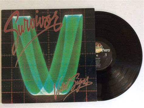 SURVIVOR Vital Signs - 1984 Scotti Bros. vinyl FZ 39578 ...