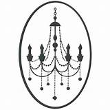 Candelabra Candelabro Template Coloring Pages Chandelier sketch template