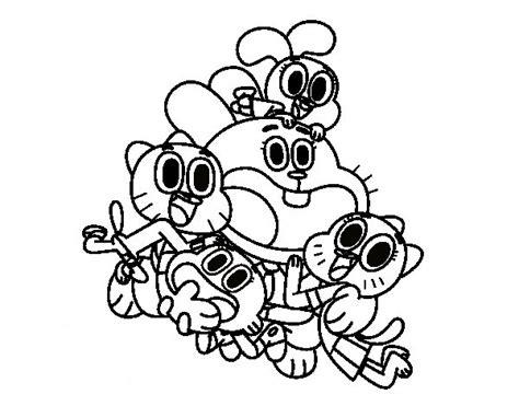 famiglia watterson disegni da colorare gratis disegni da