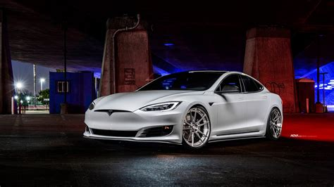 white tesla model  wallpaper hd car wallpapers id