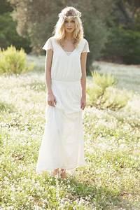 Robes De Mariée Bohème Chic : robe de mari e boh me chic d 39 occasion paris ~ Nature-et-papiers.com Idées de Décoration