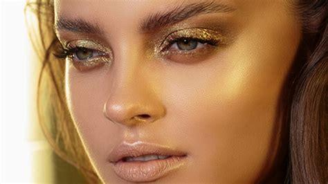 duo chrome gold green glam  natasha denona