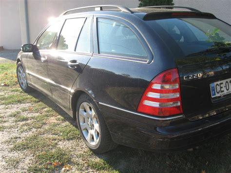 Je monte dans la 220 la clé ne veut pas tourner. Troc Echange Mercedes classe c 220 cdi break 05/2004 sur France-Troc.com