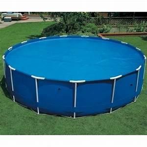 Bache À Bulles Piscine : b che bulles piscine linxor ronde diam tre 4 88 m ~ Melissatoandfro.com Idées de Décoration