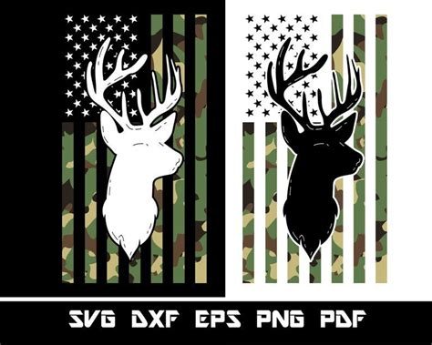 Hunting And Fishing American Flag Svg – 333+ Best Free SVG File