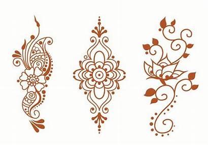 Henna Vector Designs Clipart Pack Hand Mandala