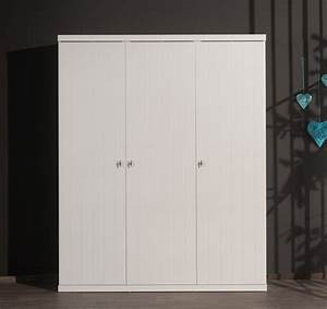 Kleiderschrank 3 Türig Weiß : kleiderschrank robin 3 t rig wei kinder jugendzimmer kleiderschr nke ~ Indierocktalk.com Haus und Dekorationen