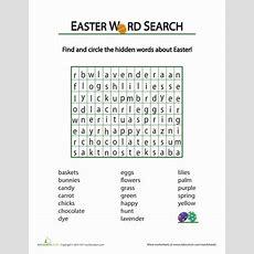 Easter Word Hunt  School  Vocabulary Worksheets, Easter, Writing Worksheets