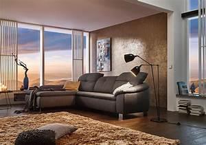 Braunes Sofa Welche Wandfarbe : wohnzimmergestaltung ideen f r dein zuhause bei couch ~ Watch28wear.com Haus und Dekorationen