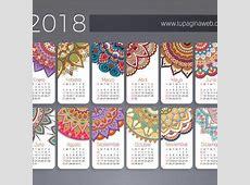 Descarga gratis este calendario 2018 para imprimir en tu