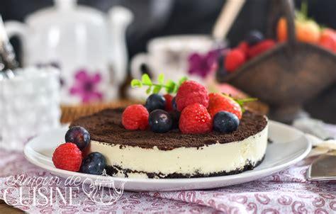 cuisine sans cuisson cheesecake oreo sans cuisson amour de cuisine