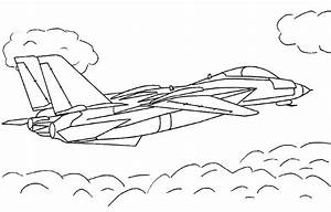 Airplane coloring pictures