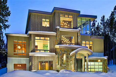 photo of usa house design ideas beautiful weekend house in colorado mountains most
