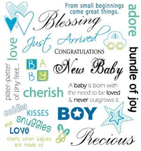 Quotes Arrival Of New Baby Boy