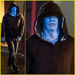 Jamie Foxx, del negro al azul, como el villano de ...