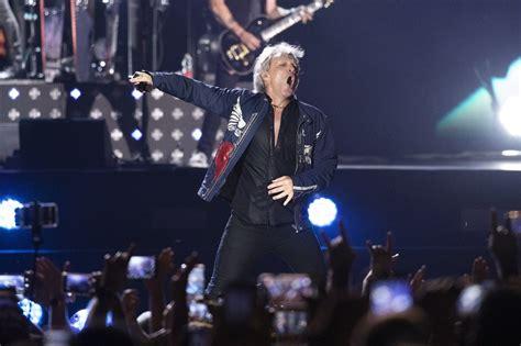Back Blaze Glory Bon Jovi Rocks Tel Aviv
