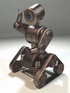 3d Model  Steampunk Robot By Ark4n On Deviantart