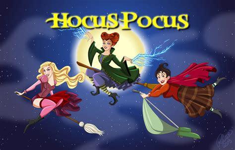 Hocus Pocus Desktop Wallpaper by Hocus Pocus By Racookie3 On Deviantart