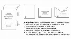 invitation linzi events With assembling wedding invitations no inner envelope