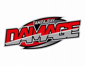 Logo Redesign For Tampa Bay Damage ‹ Trevis Meseroll Designs