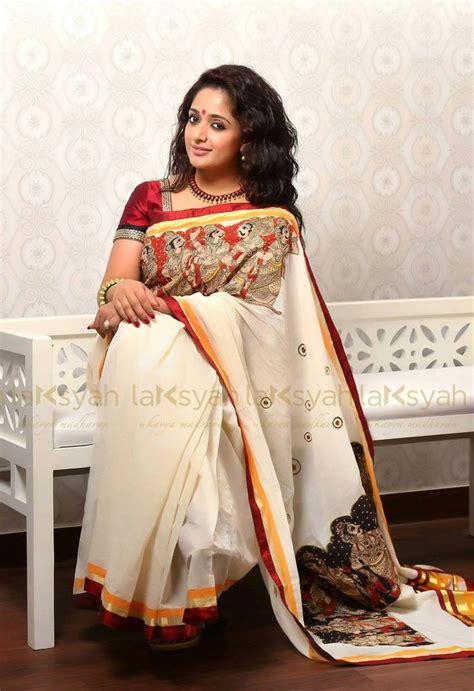 pin by malini on projects to try set saree kasavu saree saree