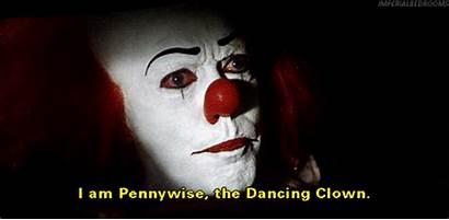 Clown Nice Pennywise Evil Horror Clowns Gifs