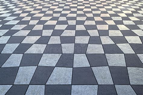 checkered pavement stock image image  lines pattern