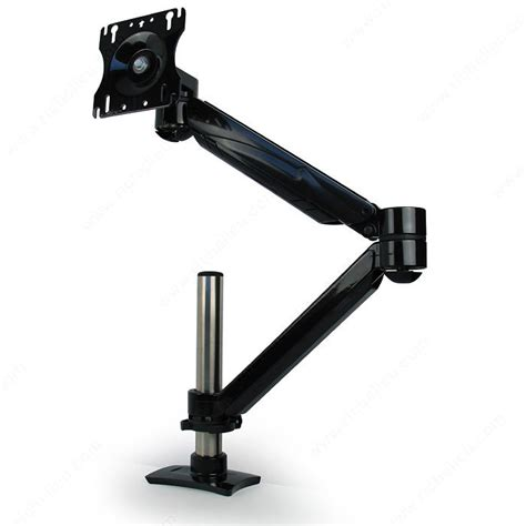 computer monitor arms desk mount single arm lcd flat panel desk mount single screen