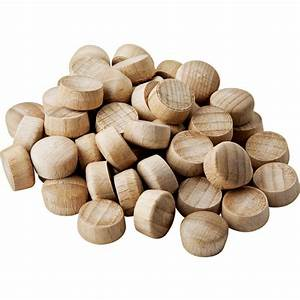"Dome-Top Wood Plugs-3/8"" Diameter - Rockler Woodworking Tools"