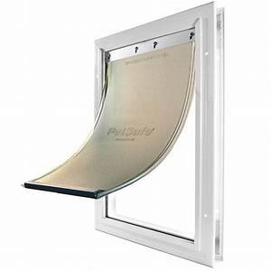 petsafe freedom aluminum pet door storm door installs With metal dog door flaps
