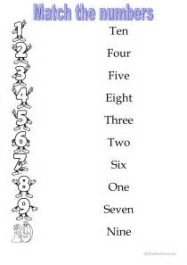 numbers 1 10 worksheet free esl printable worksheets