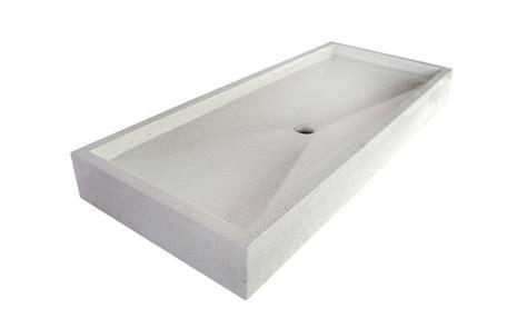 grand plan vasque blanc