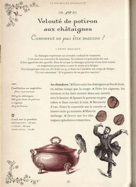 recttes de cuisine recette de sorciere la haut dans la montagne