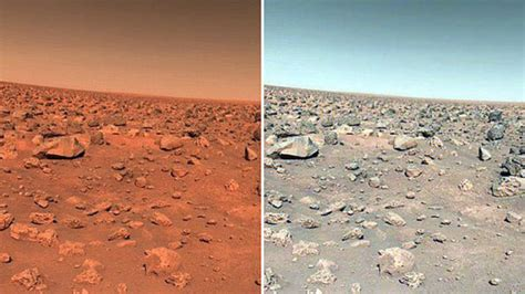 what is the real color of the sky the real color of the planet is mars really