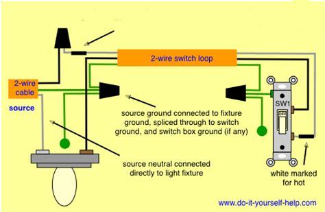 electrical   light fixture wiring pass