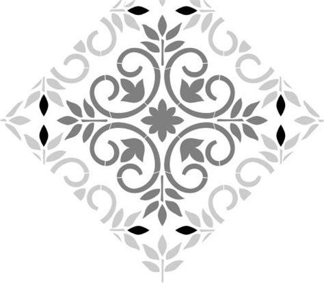 mediterranean tile stencils