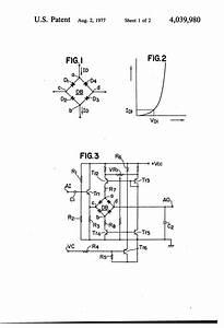 Patent Us5132556 Bandgap Voltage Reference Using Bipolar Drawing