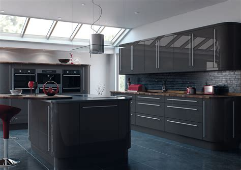 reflections high gloss kitchens crown house