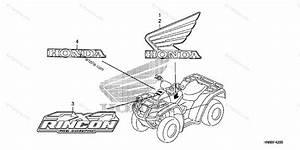Honda Atv 2012 Oem Parts Diagram For Mark
