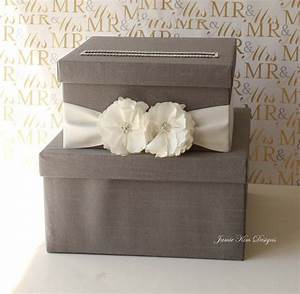 wedding card box money box wishing well custom card box With wedding gift box ideas