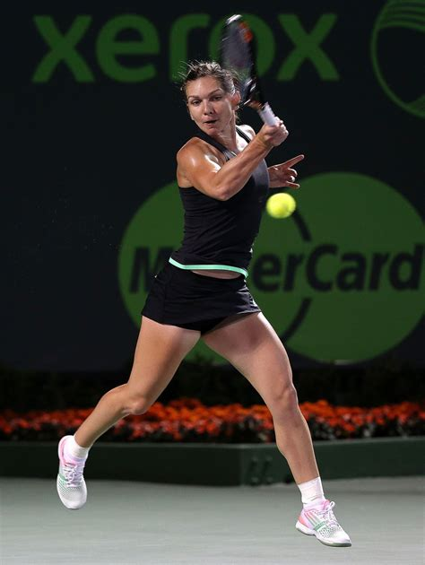 Simona Halep Miami 2016 Stock Photos and Pictures   Getty Images